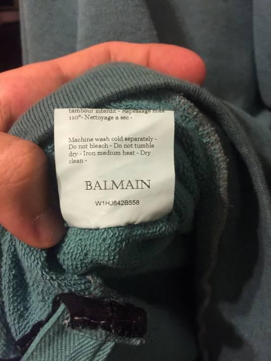 Balmain Teal Zip Up Hoody Size US M / EU 48-50 / 2 - 7