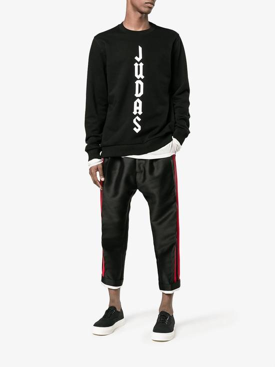 Givenchy Cuban-Fit Judas Slogan Sweatshirt Size US S / EU 44-46 / 1 - 3