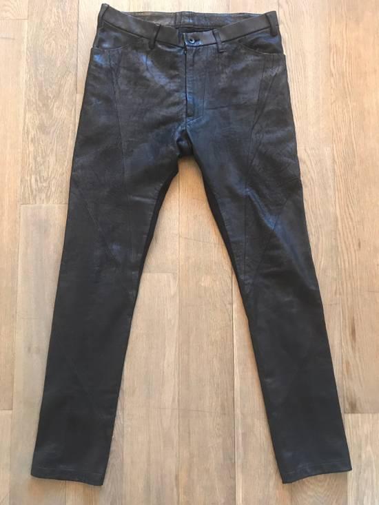 Julius Leather And Denim Pants Size US 32 / EU 48