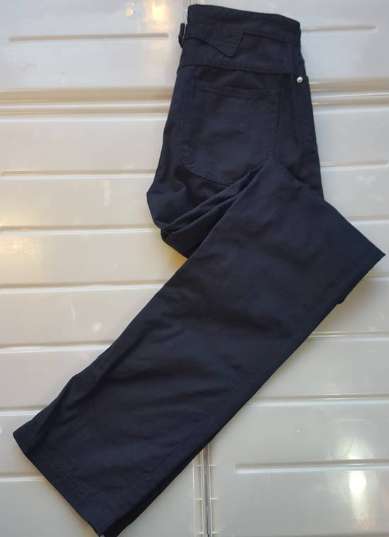 Thom Browne Navy Back-strap Trousers RB2 Size US 30 / EU 46 - 1