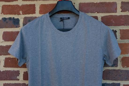 Balmain Grey Distressed T-shirt Size US M / EU 48-50 / 2 - 1