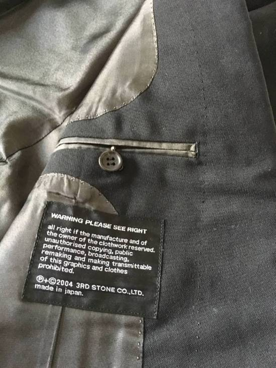 Julius Rare Japan made black fine wool tailored jacket in excellent condition Size 38R - 5