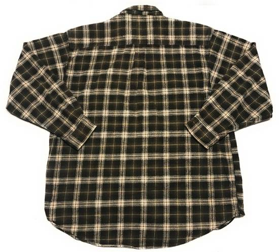 9cd0b7d2378 ... Field And Stream Green Plaid Heavy Flannel Long Sleeve Button Up Shirt  Size US XXL ...