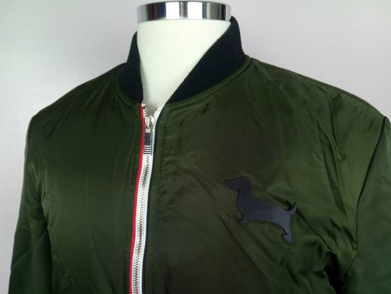 Thom Browne Bomber Jacket With Leather Dog Patch 3 / 42 / L MINT Size US L / EU 52-54 / 3 - 2
