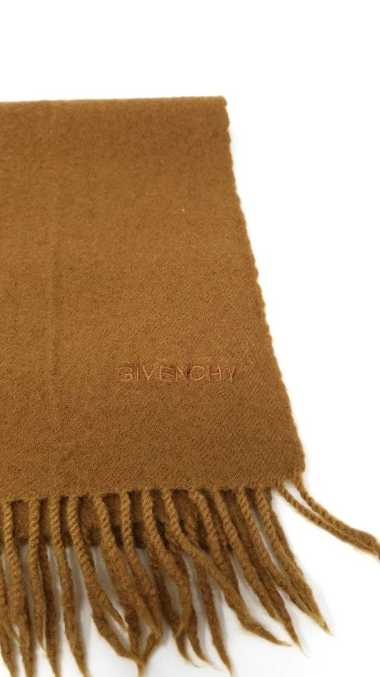 Givenchy Wool scarf beige Size ONE SIZE - 4
