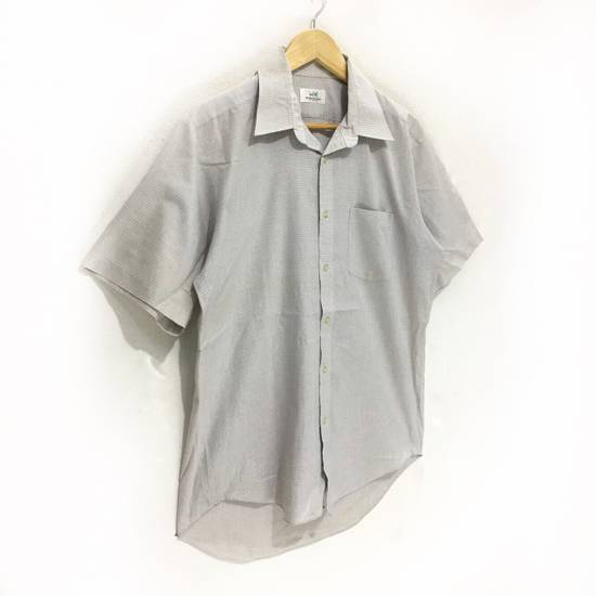 Balmain Vintage PIERRE BALMAIN Paris Casual Tee Shirt Button Up Plaids & Checks Striped Size US L / EU 52-54 / 3 - 2
