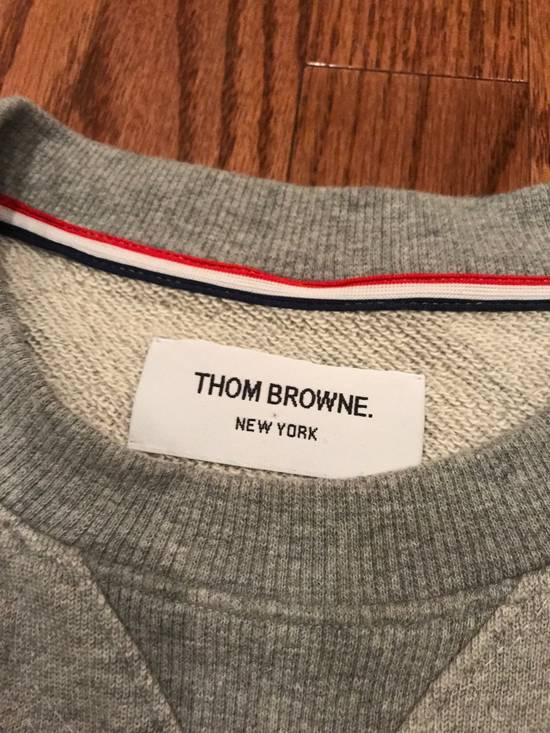 Thom Browne Grey Classic Lounge Sweater Size US M / EU 48-50 / 2 - 3