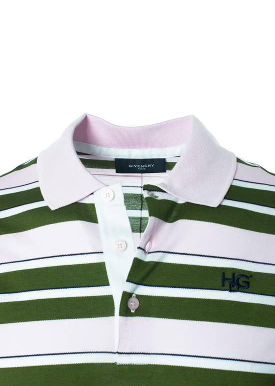 Givenchy Givenchy Men's Pink Striped 100% Cotton Polo Shirt Size Medium Size US M / EU 48-50 / 2 - 2