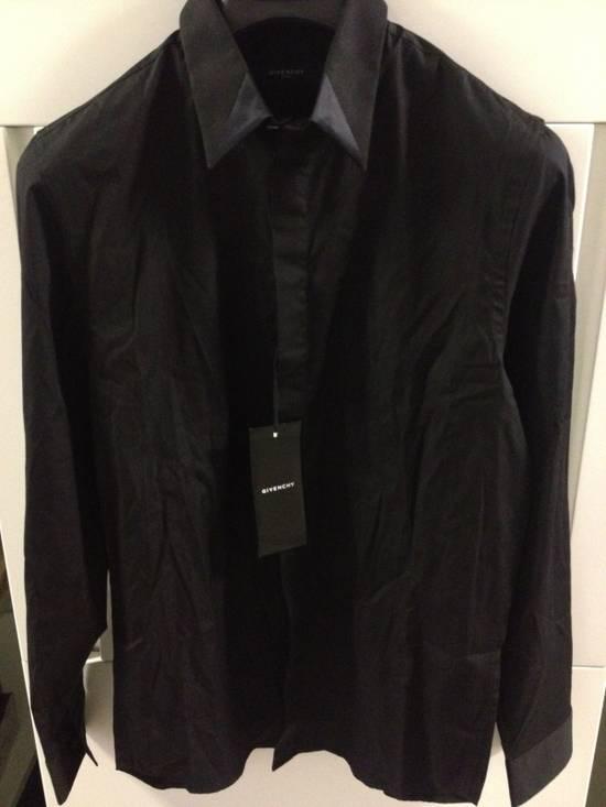 Givenchy Givenchy Runway Satin Collar Shirt Size US M / EU 48-50 / 2