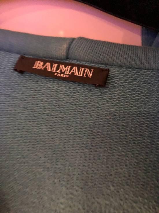 Balmain Balmain Turquoise Hoodie VERY RARE Size US S / EU 44-46 / 1 - 8