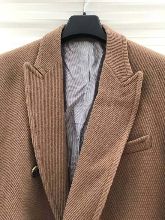 Band Of Outsiders Beige Double Breasted Coat Size US L / EU 52-54 / 3 - 9