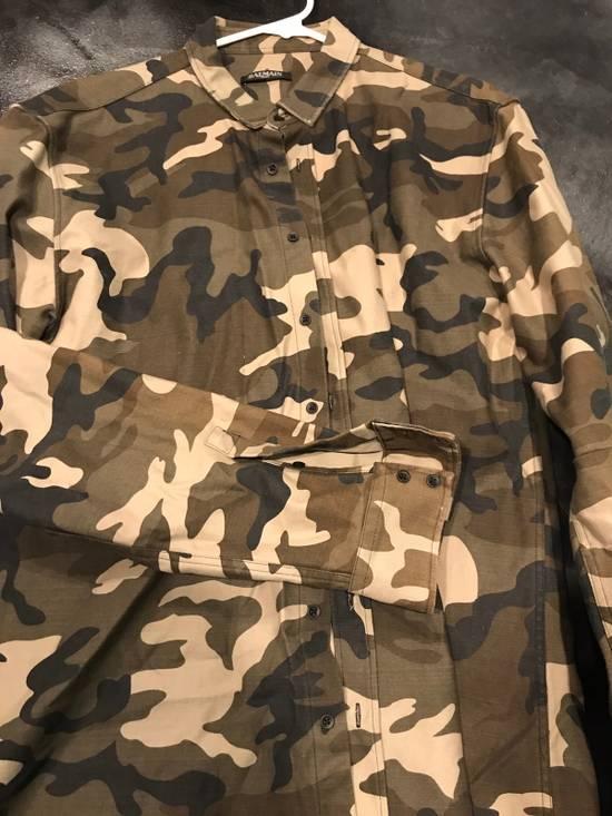 Balmain BALMAIN PARIS Camo Dress Shirt Size US L / EU 52-54 / 3 - 2