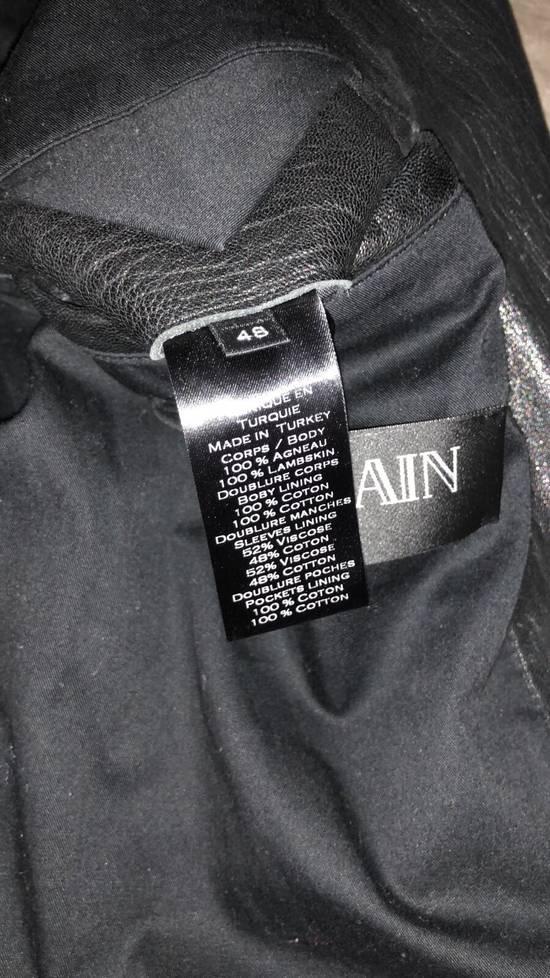 Balmain Lamb Skin Leather Biker Jacket Size US M / EU 48-50 / 2 - 1