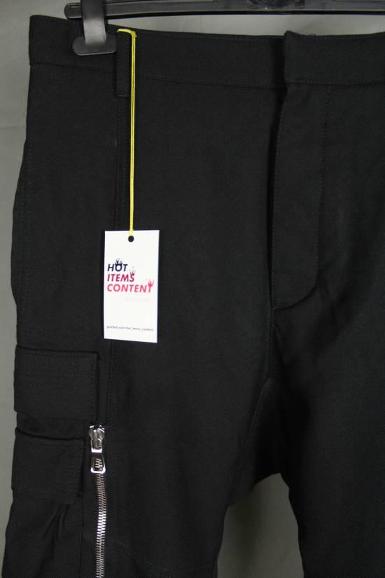 Balmain Balmain X H&M Cargo Biker Wool Pants Size EUR30 Size US 30 / EU 46 - 6