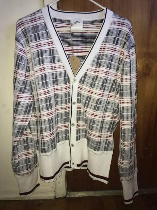 Thom Browne Plaid Striped Cardigan Size 0 NEW Size US XS / EU 42 / 0 - 3