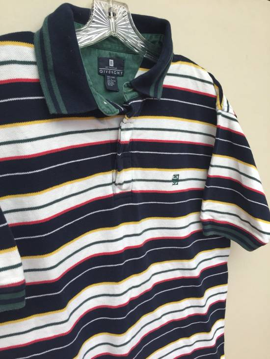 Givenchy Vintage Givenchy Activewear Striped Polo Size US L / EU 52-54 / 3 - 1