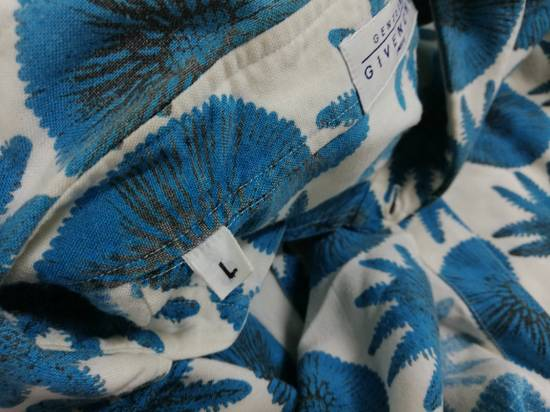 Givenchy Aqua Pattern S/S Shirt *Final Drop* Size US L / EU 52-54 / 3 - 3