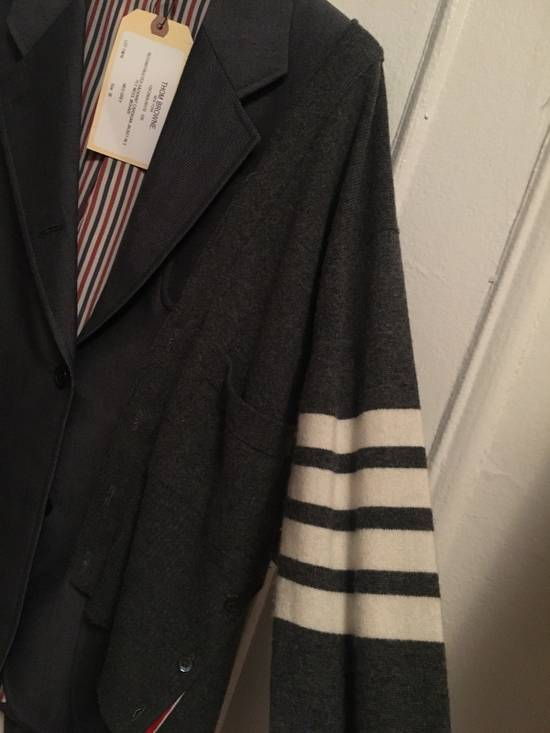 Thom Browne FW16 Runway Reconstructed Blazer Cashmere Cardigan Sweater Size 34S - 3