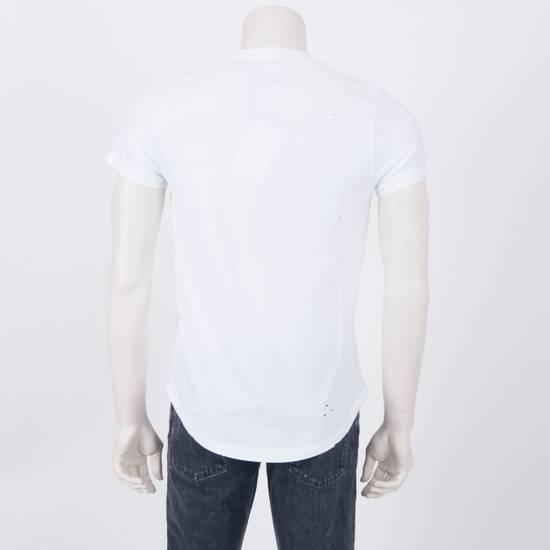 Balmain SS18 New White Cotton Balmain Velvet Logo Print Tshirt Size US M / EU 48-50 / 2 - 2