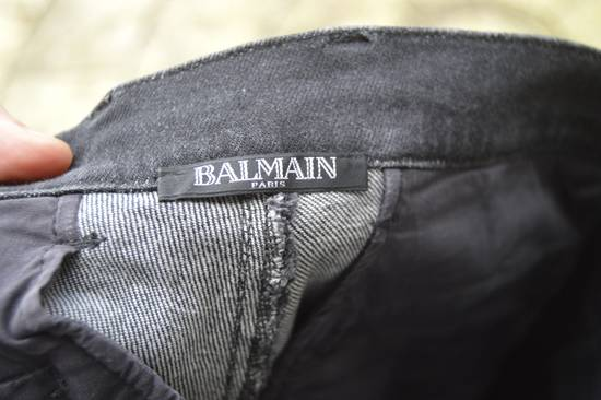 Balmain Waxed Denim Chinos Size US 28 / EU 44 - 7