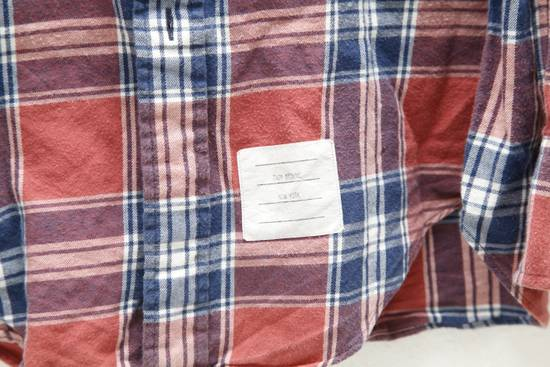 Thom Browne Soft Checked Flannel Shirt Size US L / EU 52-54 / 3 - 2