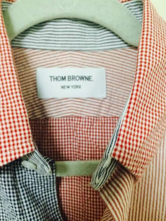 Thom Browne seersucker shirt size 2 Size US M / EU 48-50 / 2 - 3