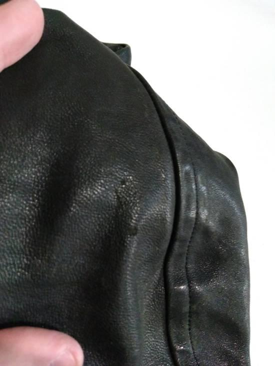 Julius Jut Neck Leather Jacket s/s08 Size US M / EU 48-50 / 2 - 17