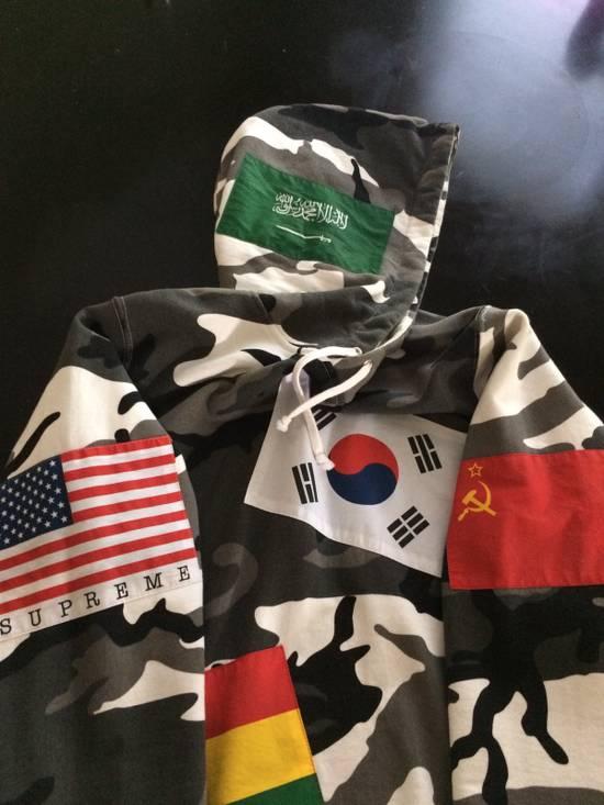Supreme Snow Camouflage Supreme Flag Hoodie Size US M / EU 48-50 / 2 - 2