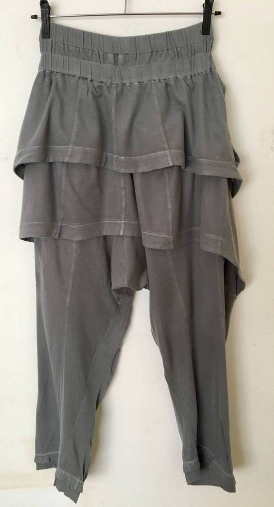 Julius Japan made silk and cotton layered skirted sweatpants Size US 29 - 5