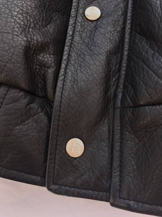 Canada Goose OVO Canada Goose 2011 Leather 24k Gold Fur Bomber Jacket Size US XL / EU 56 / 4 - 11