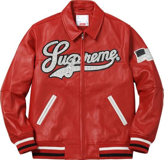 Supreme Uptown Studded Leather Jacket Size US L / EU 52-54 / 3