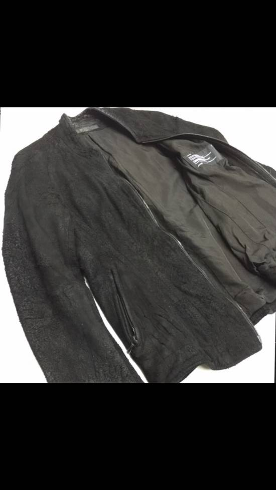Julius Season Resonance F/W Iconic Hammered Lamb Leather Jacket Size US M / EU 48-50 / 2 - 1