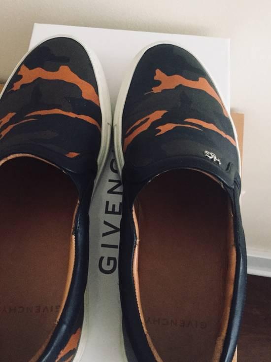 Givenchy Givenchy Orange Camo Leather Skater Shoes - 39 Size US 7 / EU 40 - 2