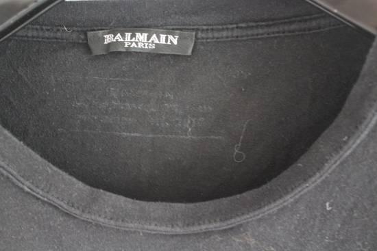 Balmain SS12 Decarnin Era Black Eagle Shirt Size US M / EU 48-50 / 2 - 3