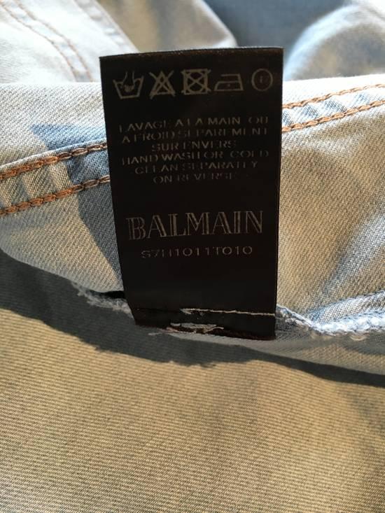 Balmain Balmain Mao Collar Denim Shirt Size US XXL / EU 58 / 5 - 6