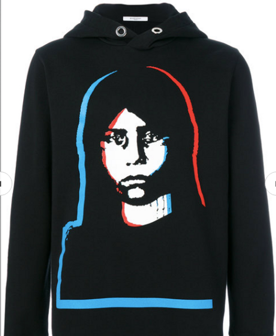Givenchy Givenchy Face Hoodie Size US M / EU 48-50 / 2 - 1