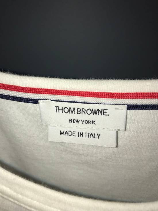 Thom Browne SS POCKET TEE MEDIUM WEIGHT JERSEY COTTON Size US S / EU 44-46 / 1 - 5
