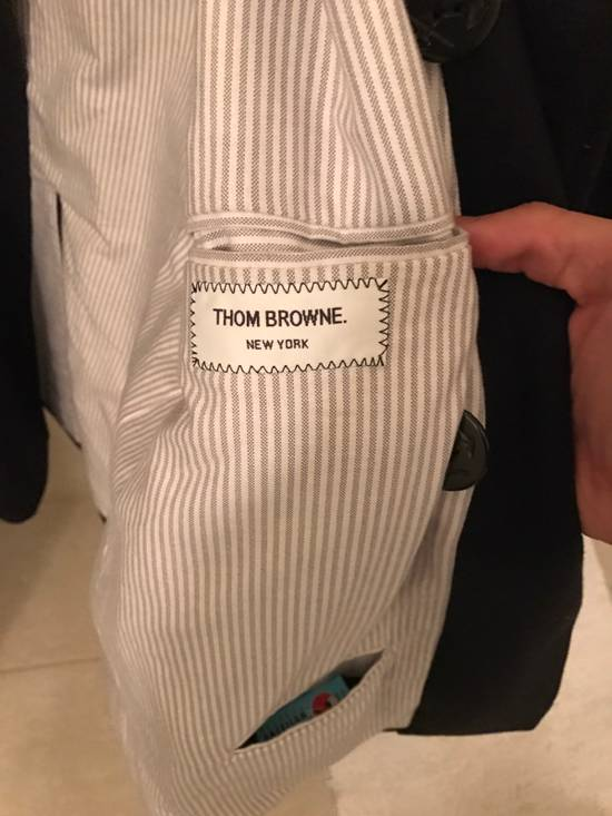 Thom Browne Double Breasted Peacoat Size US L / EU 52-54 / 3 - 1