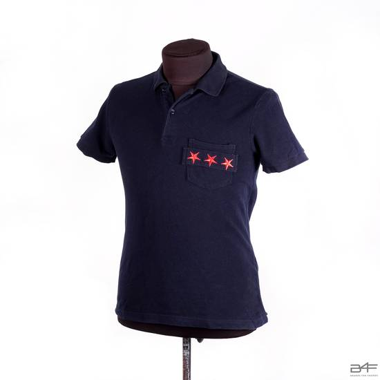 Givenchy Embroidered Star Polo Shirt Size US L / EU 52-54 / 3