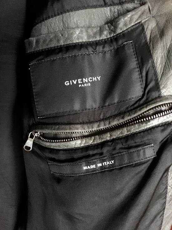 Givenchy Bomb Leather Jacket Hoodie RARE Cap Size US M / EU 48-50 / 2 - 1