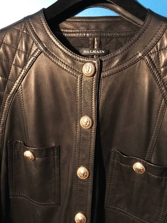 Balmain Balmain Spring 2014 Leather Jumpsuit Size US XL / EU 56 / 4 - 2