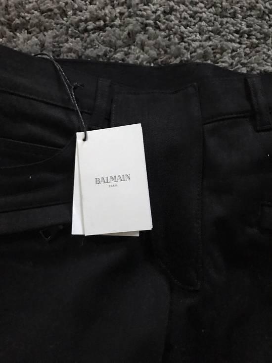 Balmain Balmain Biker Jeans Noir/Black Size 28 Size US 28 / EU 44 - 4