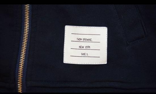 Thom Browne Engineered 4 Bar Zip Up Hoodie Size US M / EU 48-50 / 2 - 2