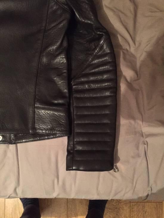 Balmain Leather Biker Jacket Lambskin Original SS12 Brand New Size US M / EU 48-50 / 2 - 15