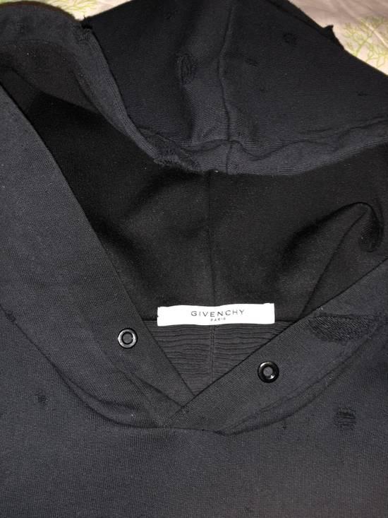 Givenchy Distressed Logo Print Hoodie Size US S / EU 44-46 / 1 - 5