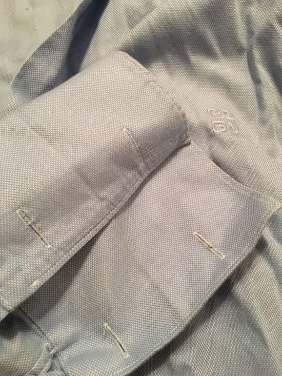 Givenchy Blue Oxford Spread Collar Dress Shirt Size US XS / EU 42 / 0 - 2