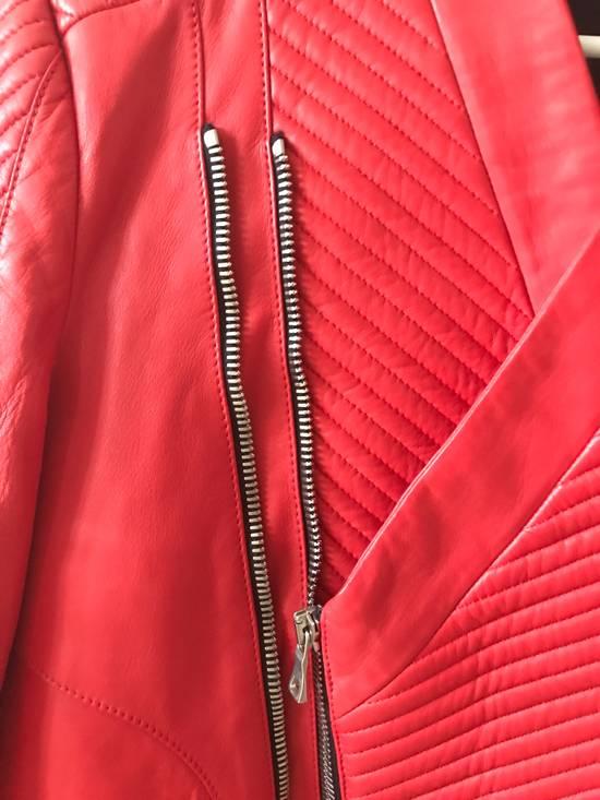 Balmain Nappa Leather Biker Jacket Size US M / EU 48-50 / 2 - 2