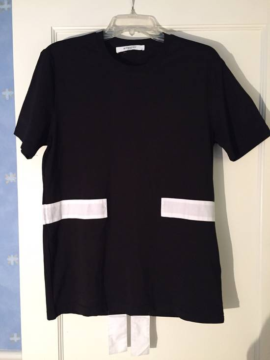 Givenchy Striped Paneled Tee Size US M / EU 48-50 / 2