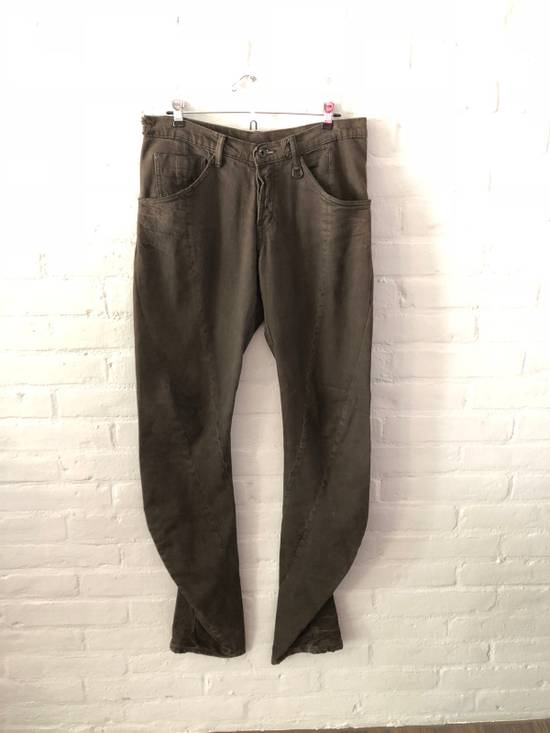 Julius Julius Manifesto Twisted Seam Denim (dust brown) Last Drop Size US 34 / EU 50