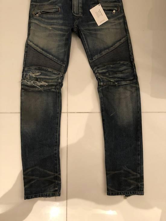 Balmain Biker Jeans Size 31 Size US 31 - 2